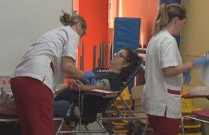 donació de sang al Centre Cívic l'Estació