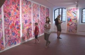 exposició al Pardo de l'Escola Municipal d'Art Apel·les Fenosa